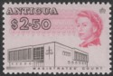 Antigua 1966 QEII $2.50 Black and Cerise p11½x11 Mint SG194