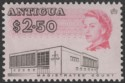 Antigua 1968 QEII $2.50 Black and Cerise p11½x11 Mint SG194v