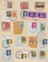 Australia 1946-70 KGVI-QEII Selection Used with various Relief Postmarks