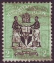 British Central Africa 1895 QV 2d Black and Green Used SG22