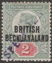 British Bechuanaland 1891 QV 2d Grey-Green and Carmine SPECIMEN SG34s