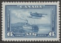 Canada 1938 KGVI Air 6c Blue Mint SG371