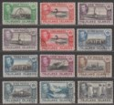 Falkland Islands 1938-50 KGVI Part Set to 2sh6d Used