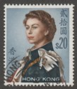Hong Kong 1962 Queen Elizabeth II $20 Used SG210