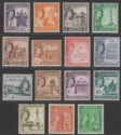 Malta 1956 Queen Elizabeth II Set to 5sh Mint SG266-280