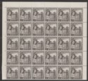 Malta 1956 QEII Victory Church 1d Black Sheet of 60 Mint SG268 cat £165