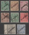 Malta 1922 King George V Self-Government Overprint Selection to 6d Used