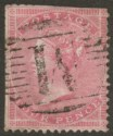 Malta 1857 Queen Victoria 4d Rose GB Used Malta SG Z18 w M Postmark clipped perf