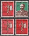 South West Africa 1965 Windhoek Mail Runner 3c Colour Trials x2 SG198 var