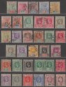 Seychelles 1892-1932 QV-KGV Selection to 2r.25 Used