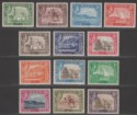 Aden 1939-48 King George VI Set Mint SG16-27 cat £120 toned gum