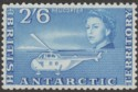 British Antarctic Territory 1963 Westland Whirlwind 2sh6d Blue Mint SG12