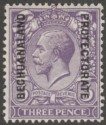 Bechuanaland Protectorate 1926 KGV 3d Violet watermark Inverted Mint SG94w