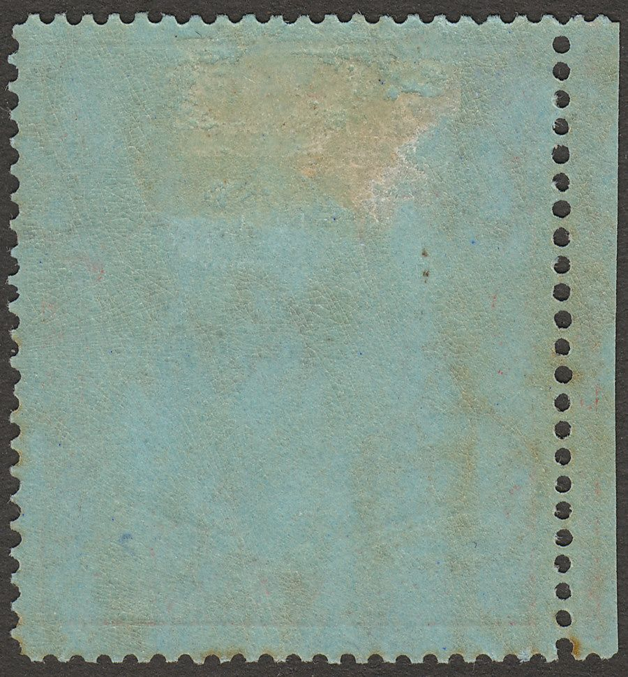 Bermuda 1941 KGVI 2sh6d Black and Red on Grey-Blue p14¼ Mint SG117a