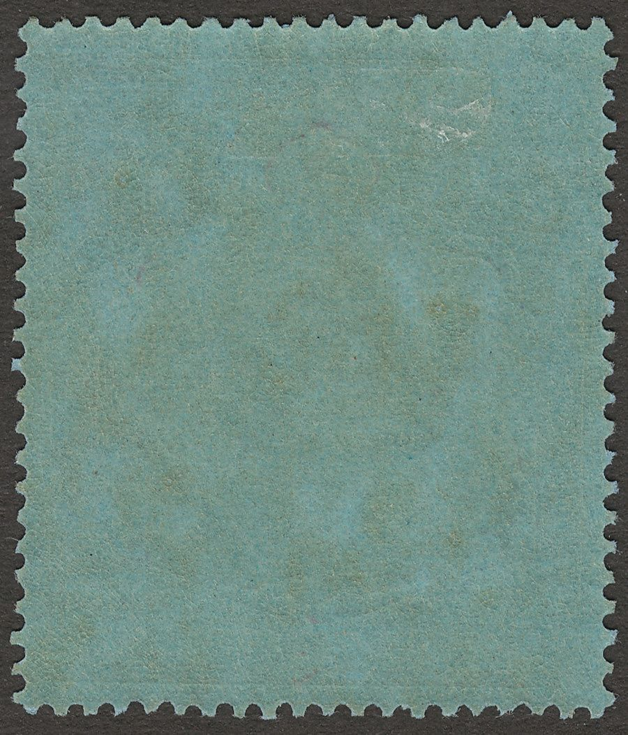 Bermuda 1940 KGVI 2sh Deep Purple and Ultramarine on Grey-Blue p14 Mint SG116a