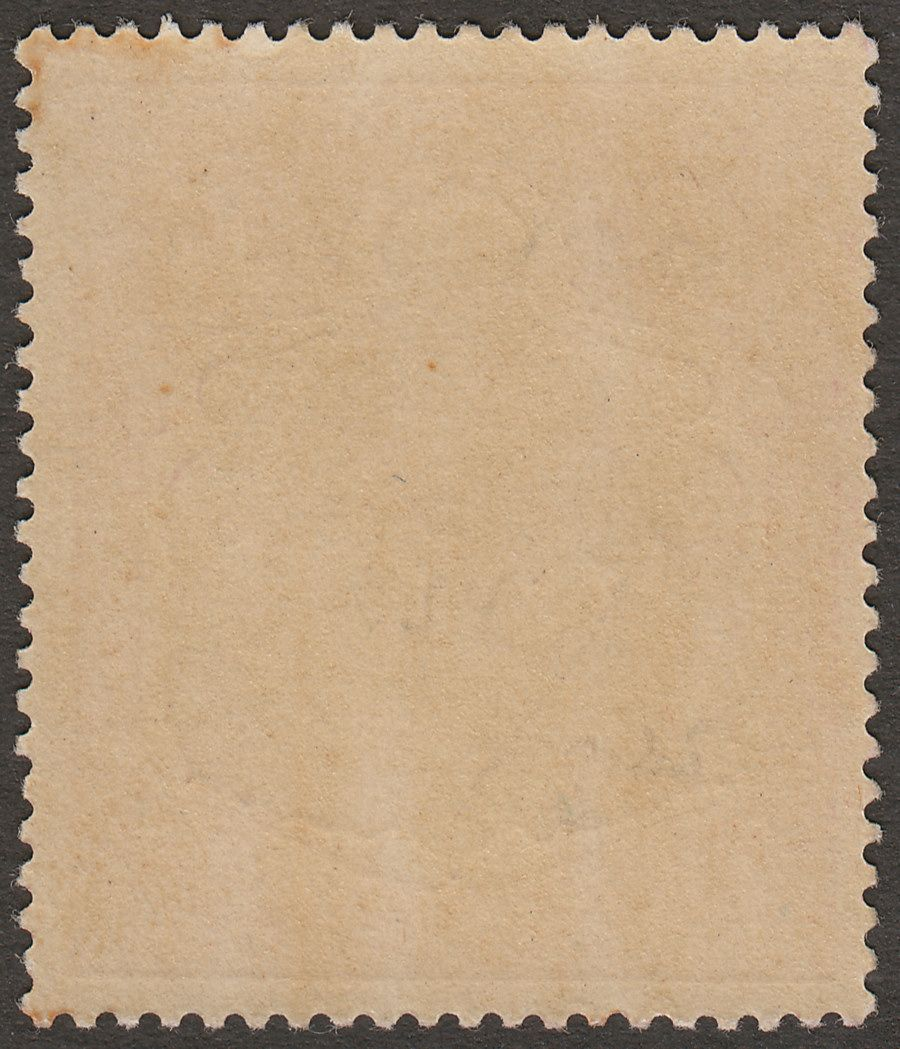 Bermuda 1920 KGV 4sh Variety Break in Lines Below Left Scroll Mint SG52be