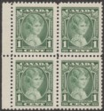 Canada 1935 KGV Silver Jubilee QEII 1c Variety Weeping Princess Mint SG335a