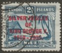 Cook Islands 1935 KGV Silver Jubilee 2½d Variety Narrow E in George Used SG114a