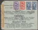 Syria Republic Under French Mandate 1944 10p x2, 7p.50, 5p Cover Used w Censor