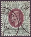 East Africa & Uganda 1903 KEVII 3a Brown-Purple and Green Used SG5