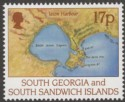 South Georgia and South Sandwich Islands 1994 Larsen 17p watermark Inverted SG251w
