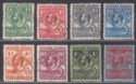 Falkland Islands 1929 KGV Whale + Penguins Set to 2sh6d Used SG116-123