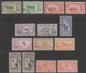 Falkland Islands 1952 King George VI Set to 1sh3d Used SG172-181 cat £15+