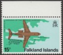 Falkland Islands 1979 Stanley Airport 15p watermark Inverted SG362w