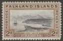 Falkland Islands 1933 KGV Centenary 2d Port Louis Mint SG130