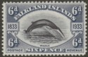 Falkland Islands 1933 KGV Centenary 6d Fin Whale Mint SG133