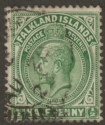 Falkland Islands 1920 KGV ½d Dull Bluish Green Used SG60d