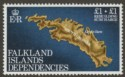 Falkland Islands Dependencies 1982 Rebuilding Fund watermark Inverted SG112w