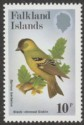 Falkland Islands 1982 Passerines 10p watermark Upright Mint SG434w