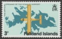 Falkland Islands 1979 Stanley Airport 3p watermark Inverted SG360w