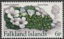 Falkland Islands 1972 QEII Flowers 6p wmk Upright Mint SG284
