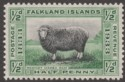 Falkland Islands 1933 KGV Centenary ½d Marsh Ram Mint SG127