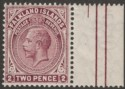 Falkland Islands 1919 KGV 2d Deep Reddish Purple Mint SG62c