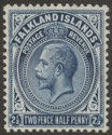 Falkland Islands 1927 KGV 2½d Deep Steel-Blue Mint SG76b