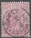 King Edward VII 1906 6d Pale Dull Purple on Chalky Paper Used SG245a