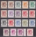 Hong Kong 1938-52 King George VI Part Set to 80c Mint
