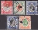 Hong Kong KGV- KGVI Revenue Stamp Duty Selection to $1 Used