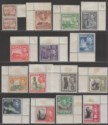Malta 1938-43 King George VI Part Set to 10sh UM Mint MNH