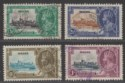 Malta 1935 KGV Silver Jubilee Set Used SG210-213 cat £45