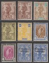 Malta 1922-26 King George V Figure Selection to 2sh6d Mint