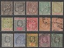 Mauritius 1910 King Edward VII Set to 1r Used SG181-192