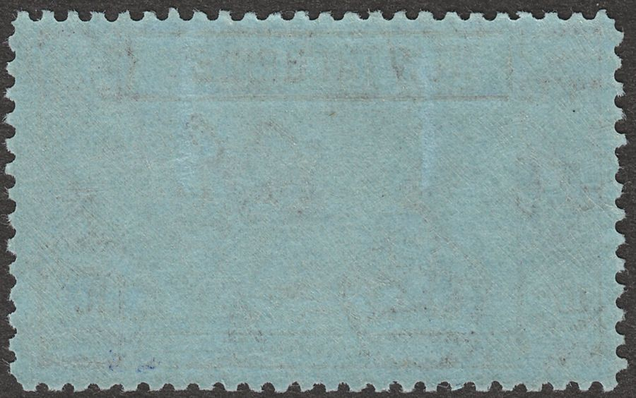 New Hebrides 1938 KGVI Gold Currency 10f Violet on Blue Mint SG63