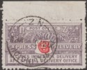 New Zealand 1903 KGV Express Delivery 6d perf 11 Used SG E1 cat £23