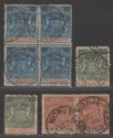 Rhodesia 1892 QV BSAC Small Arms Part Set to 4d Used