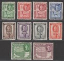 Somaliland Protectorate 1942 King George VI Set to 2r Mint SG105-114 cat £26
