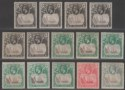 St Helena 1922-37 KGV Badge Selection to 2d Mint SG97-100 good shades